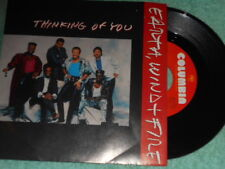 Earth Wind & Fire Thinking Of You NM/Money Tight NM 1987 Funk R&B 45 & PS