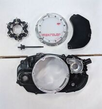 BANSHEE CLUTCH COVER WITH LOCK UP, WATER PUMP COVER, AND DIP STICK - ANODIZED