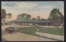 GREAT BARRINGTON MA/MASSACHUSETTS RAILROAD DEPOT TRAIN STATION 1910'S