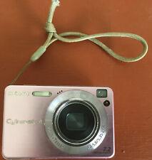 Sony Dsc-W120 Digital Still Camera 7.2 Mega Pixels Cyber Shot Pink Untested