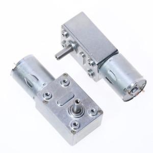 Multi-Speed Worm Reversible Torque Gear Reduction Motor DC 12V Turbo Gear Motor