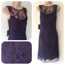 NWT Pisarro Night Sequin Beaded Embellished Dress 20's Gatsby in 10 Deco Flapper