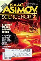 Vtg Isaac Asimov's Science Fiction Magazine Sept 1992 Stephen Kraus m782