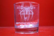 Inciso a laser Tumbler Spiderman con grande potere deriva grande responsabilità