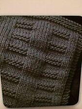 City Blocks Dishcloth Knitting Pattern