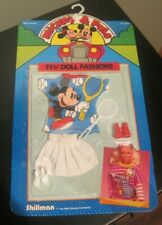 "Vintage Barbie doll 1986 ""Mickey & Pals"" tennis outfit shillman walt disney"