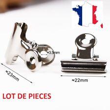 Kit 4 pinces 22mm pour plateau chauffant - Reprap, Prusa, Anet A8, Creality ...