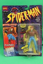 Spider-Man Animated Series Peter Parker with Camera Figure New on Card