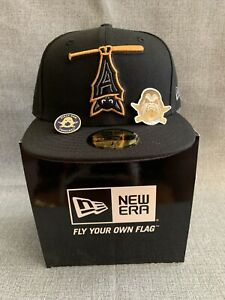 The Clink Room Austin BatsExclusive 59Fifty Fitted Hat Gray UV