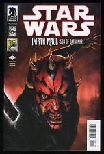 Star Wars Darth Maul Son of Dathomir 1 Comic San Diego Comic-Con Var. Ed. SDCC