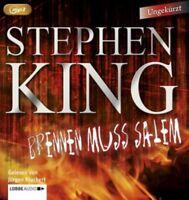 Brennen muss Salem von Stephen King (2015, MP3-CD)