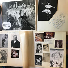 Autogrammsammlung und Fotosammlung eines Künstlers - siehe Galeriebilder -2.Teil