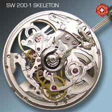 MOVEMENT SELLITA SW200-1 AUTOMATIC, SKELETON , COMPATIBLE WITH ETA 2824 !