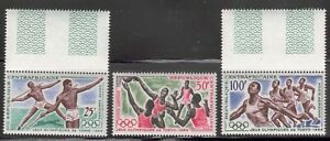 Central African Republic - 1964 Air Mail issue, Tokyo Olympic Games