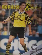 Programm 1994/95 Borussia Dortmund - MSV Duisburg