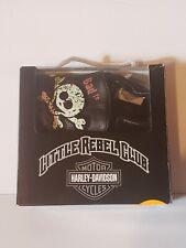 Harley Davidson Little Rebel Club Baby Slippers