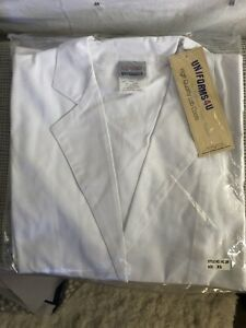 White Lab Coat Medical Uniform Sz XS