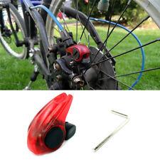 Bike Bicycle Brake Light LED Safety Warning Rear Tail Lamp Cycling Warning Light