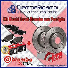 KIT DISCHI + PASTIGLIE FRENO ANT BREMBO EXTRA FORATI AUDI A3  12-> 312