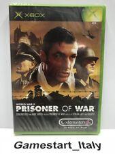 PRISONER OF WAR (XBOX) VIDEOGIOCO NUOVO SIGILLATO - NEW SEALED PAL VERSION