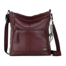 THE SAK Women's   Lucia Crossbody Bag Cabernet Size OSFA