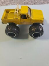 Vintage Road Champs Bearfoot Monster Truck Bear Foot rare Chevy GMC yellow