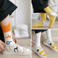 Cute Cartoon Socks Women's Cotton Casual Socks Creative Animals Socks K1M7