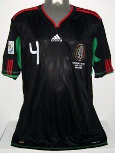 ADIDAS MEXICO WC2010 RAFA MARQUEZ XL AWAY ORIGINAL SOCCER FOOTBALL JERSEY SHIRT