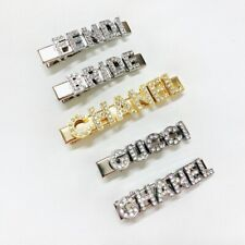 5 Letters Customized Hair Clip Barrette Gift For Women Wedding Bride Accessories