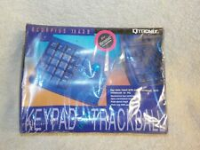 (NOS) Vintage  Scorpius 19 ADB Mechanical Keypad w/ Trackball Mouse