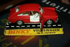 Dinky Toys  Volkswagen 1600 TL fastback  #163