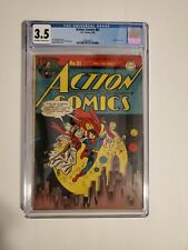 Action Comics #81 DC 1945 ,CGC 3.5 New Year Cover