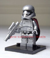 Captain Phasma Star Wars Minifigure +Stand The  Mandalorian Clone Wars FREE SHIP