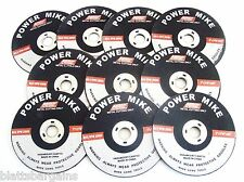 """100 ATE PRO POWER MIKE 3"""" AIR CUT-OFF WHEELS DISC 1/16 THICK METAL CUTTING 40146"""