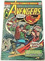 AVENGERS#132 VG/FN 1975 MARVEL BRONZE AGE COMICS