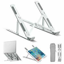 Portable Foldable Aluminum Laptop Stand Adjustable Notebook Tablet Lazy Holder