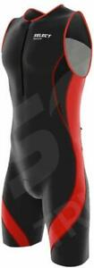 Select Men Triathlon Tri Suit Compression Running Racing Swimming Cycling