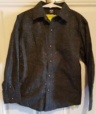NWT Boys Button Up, Long Sleeve Shirt Set, Route 66 size 6/7