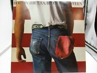 BRUCE SPRINGSTEEN BORN IN THE USA LP W/ INSERT & ORIG INNER QC 38653 VG+ c VG+