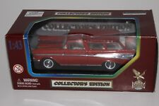 YATMING ROAD LEGENDS COLLECTORS EDITION DIECAST 1957 CHEVROLET NOMAD (RED)