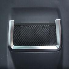 2pcs Chrome Rear Back Seat Net Frame Trim for Range Rover Evoque 2012-2017