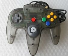 Official Nintendo 64 N64 Smoke Grey BLACK Funtastic Clear Atomic Controller OEM