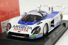 SLOT IT SICA19D TOYOTA 88C MINOLTA LE MANS 1988 NEW 1/32 SLOT CAR IN DISPLAY