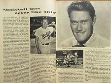 1960 Boston Herald TV Magazine (CHUCK  CONNORS/RIFLEMAN/GENE  TIERNEY/JOHN WAYNE