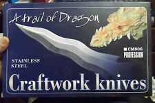 A Trail of Dragon Craftwork Knives RARE New in Box