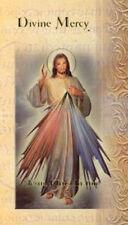 Divine Mercy Biography Card - A Devotional Prayer