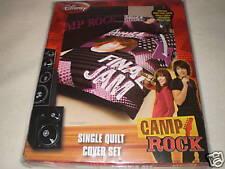 CAMP ROCK JOE JONAS FINAL JAM QUILT COVER SET SINGLE