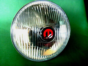 "7"" MOPAR BADGED CUSTOM LED HEADLAMPS -CHARGER VALIANT CHRYSLER DODGE PLYMOUTH"