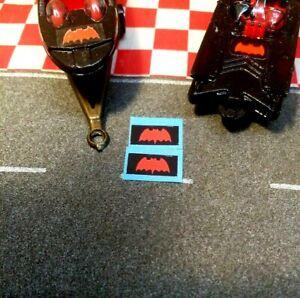 Corgi Juniors BATMANS BATMOBILE and BATBOAT  2, Stickers,  NO BOAT or CAR
