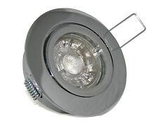 Deckenlampen LED 230V 3W=30W Einbaustrahler Spots Hochvolt Bajo GU10 - IP20